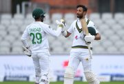 Shadab Khan and Shan Masood