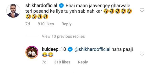 Shikhar Dhawan Instagram