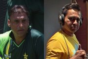 Shoaib Akhtar and Aakash Chopra