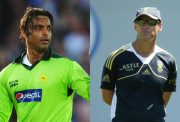 Shoaib Akhtar and Gary Kirsten