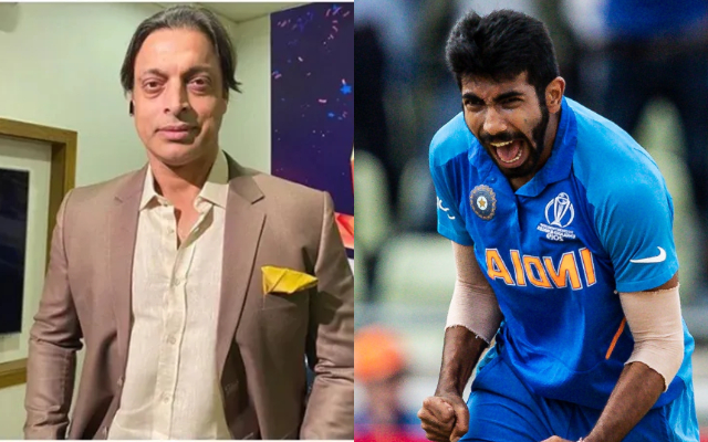 Shoaib Akhtar and Jasprit Bumrah