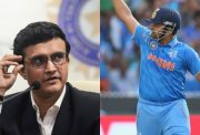 Sourav Ganguly and Suresh Raina