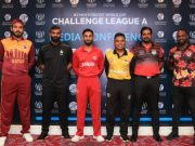 Team Captains for the ICC Mens Cricket World Cup Challenge League-A 2019