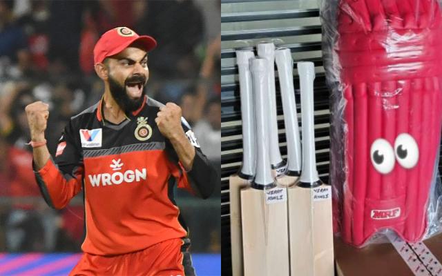Virat Kohli and his new RCB kits