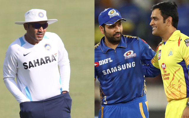 Virender Sehwag, Rohit Sharma and MS Dhoni