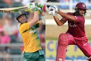 AB de Villiers and Nicholas Pooran