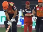 Aaron Finch and Mitchell Marsh