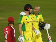 Ashton Agar and Mitchell Marsh