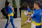 CSK practice session