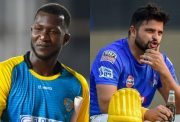 Darren Sammy and Suresh Raina