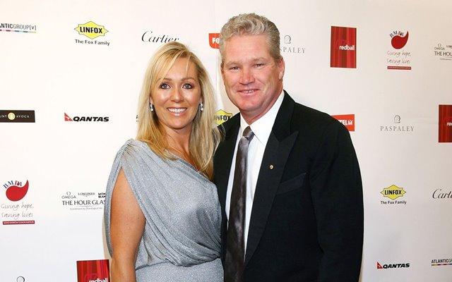 Dean Jones and wife Jane Jones