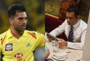 Deepak Chahar and MS Dhoni