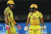 Faf du Plessis and Kedar Jadhav