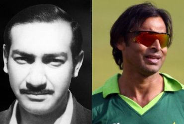Farooq Hamid and Shoaib Akhtar