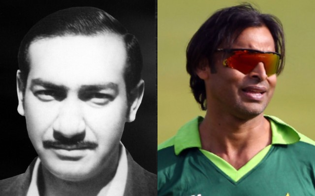 Farooq Hamid and Shoaib Akhtar