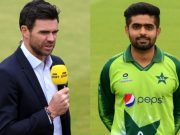 James Anderson and Babar Azam