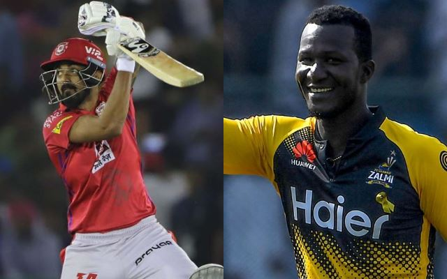 KL Rahul and Darren Sammy