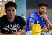 Kapil Sharma and Suresh Raina