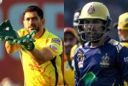 MS Dhoni and Sarfraz Khan