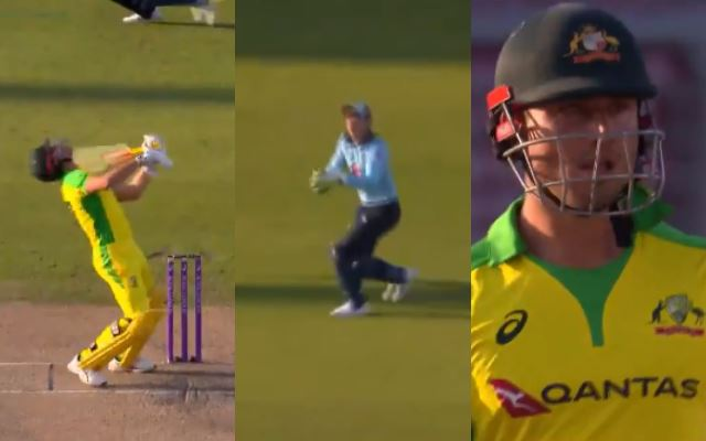 Marcus Stoinis' wicket