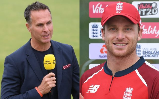 Michael Vaughan and Jos Buttler