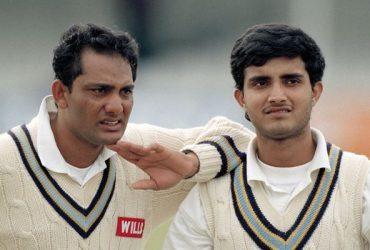 Mohammad Azharuddin and Sourav Ganguly