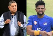 N Srinivasan and Suresh raina