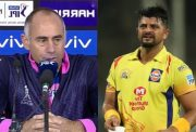 Paddy Upton and Suresh Raina