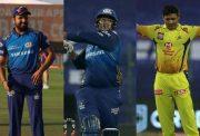 Rohit Sharma, Saurabh Tiwary and Piyush Chawla