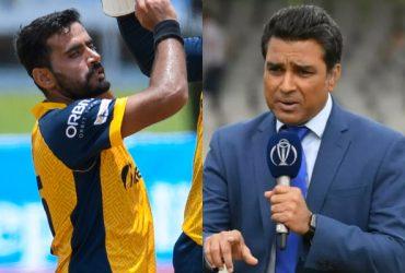 Sanjay Manjrekar and Zahir Khan