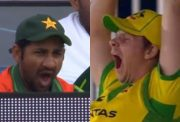 Sarfaraz Ahmed and Steve Smith