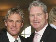 Shane Warne and Dean Jones