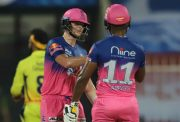 Steve Smith and Sanju Samson