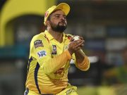 Suresh Raina of Chennai Super Kings