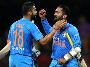 Virat Kohli and Dinesh Karthik