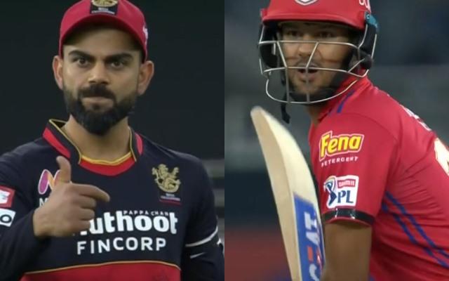 Virat Kohli and Mayank Agarwal