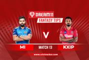 KXIP vs MI D11 IPL 2020 Match 13