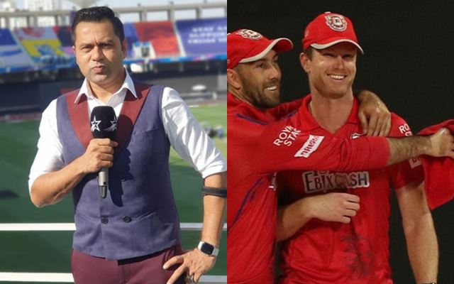 Aakash Chopra and Jimmy Neesham of KXIP