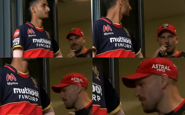 Aaron Finch vaping