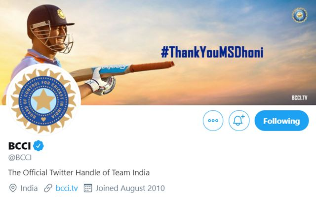 BCCI Twitter Cover Picture