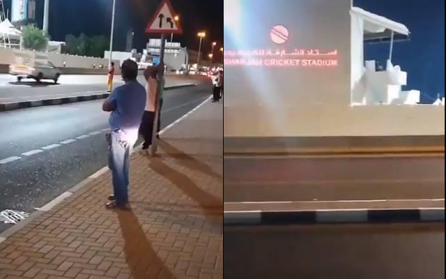 Fans at Sharjah
