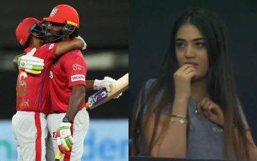 Kings XI Punjab's Super Over girlKings XI Punjab's Super Over girl