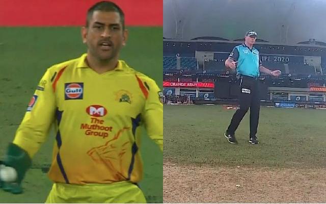 MS Dhoni-Umpire