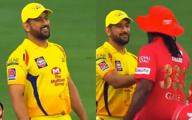 MS Dhoni and Chris Gayle