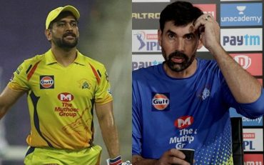 MS Dhoni and Stephen Fleming