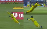 MS Dhoni's catch