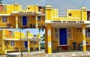 MS Dhoni's fan house