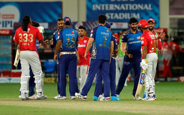 Mumbai Indians v Kings XI Punjab
