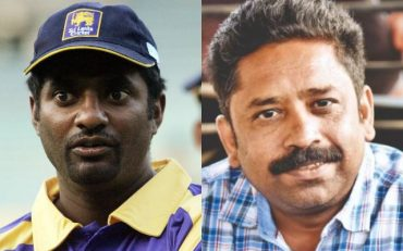 Muttiah Murlitharan and Seenu Ramasamy
