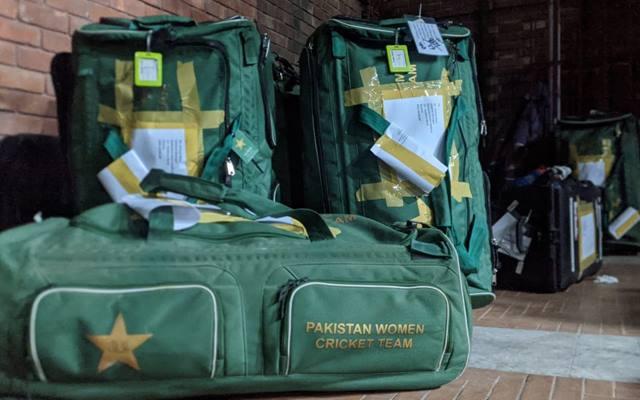 Pakistan Women cricketer's kit